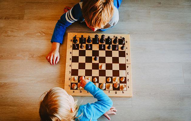 O xadrez para o desenvolvimento da lógica